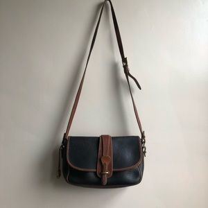 Vintage 80s Dooney & Bourke All Weather Leather